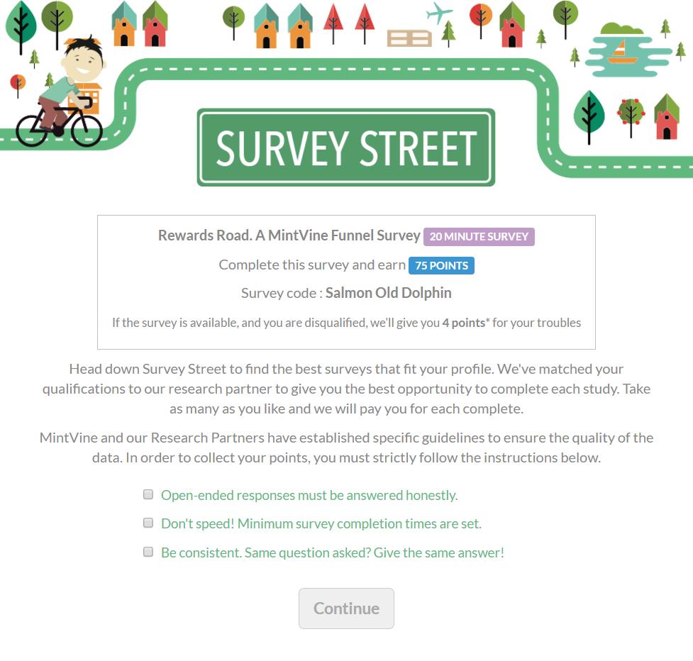 MintVine Survey Street